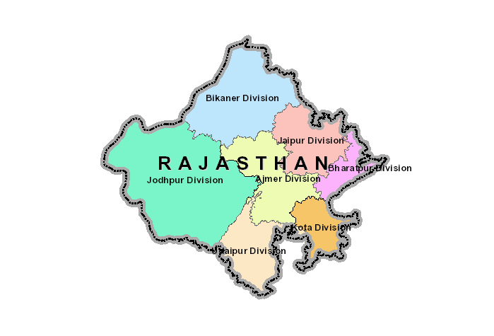 Map Of Rajasthan Rajdharaa   Department of Information Technology and Communication Map Of Rajasthan